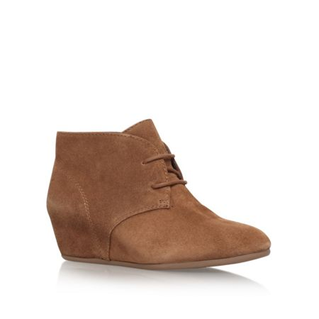 Nine West Joanis mid wedge heel boots