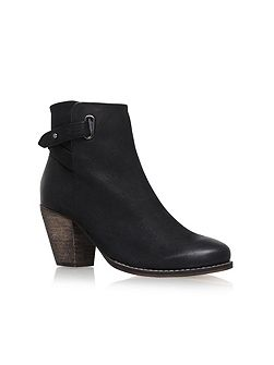 Smart high heel ankle boots