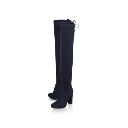 Carvela Pace mid block heel over the knee boots