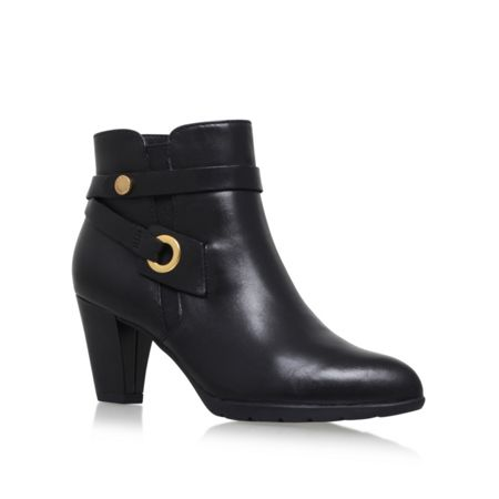 Anne Klein Chelsey high heel ankle boots