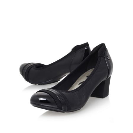 Anne Klein Guardian mid heel court shoes