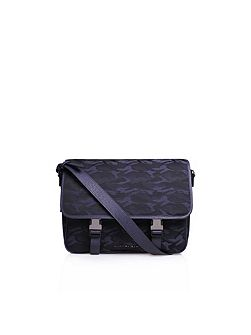 Nylon ryan messenger satchel