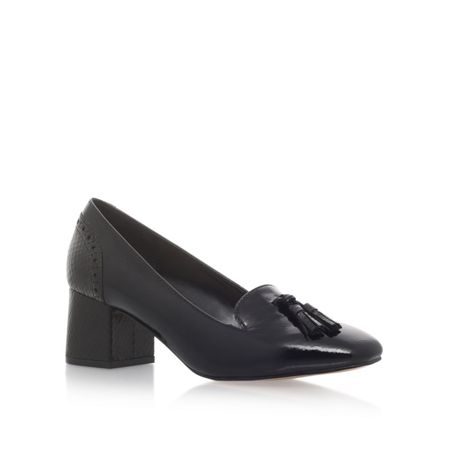 Carvela Konsider mid heel slip on loafers