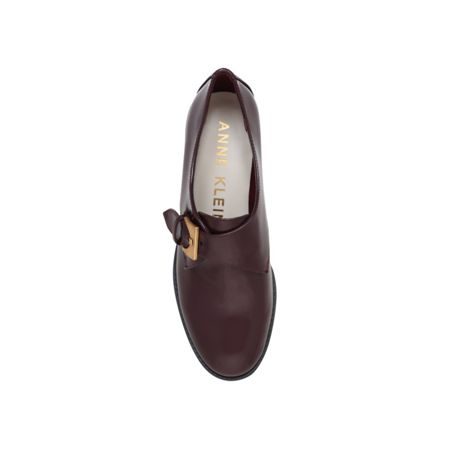 Anne Klein Bara flat monk loafers