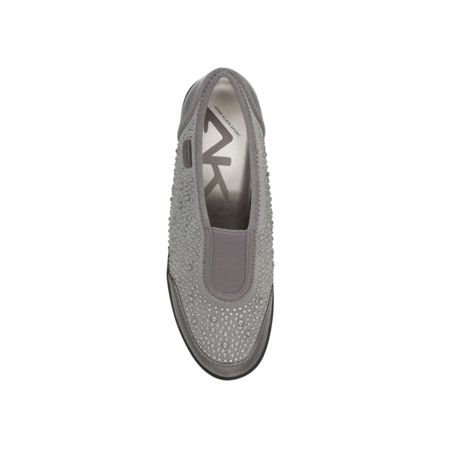 Anne Klein Yarmilla flat lace up sneakers