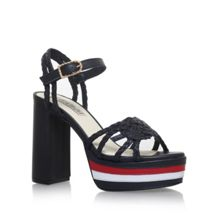 Tommy Hilfiger Gigi rope high heel sandals