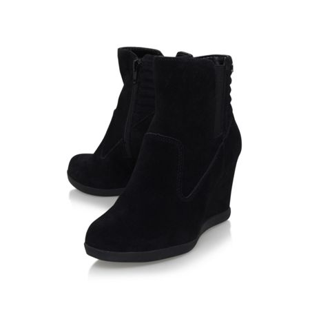 Anne Klein Neither wedge ankle boots