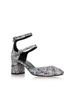 Dolly mid heel sandals
