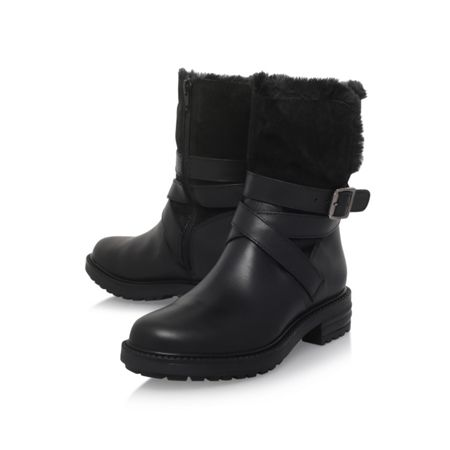 KG Soldier flat calf boots