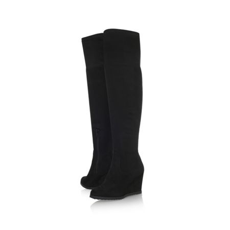 Miss KG Vivien zip up over the knee boots