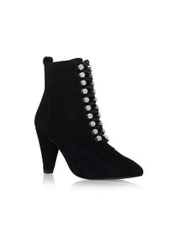 Rapido high heel lace up boots