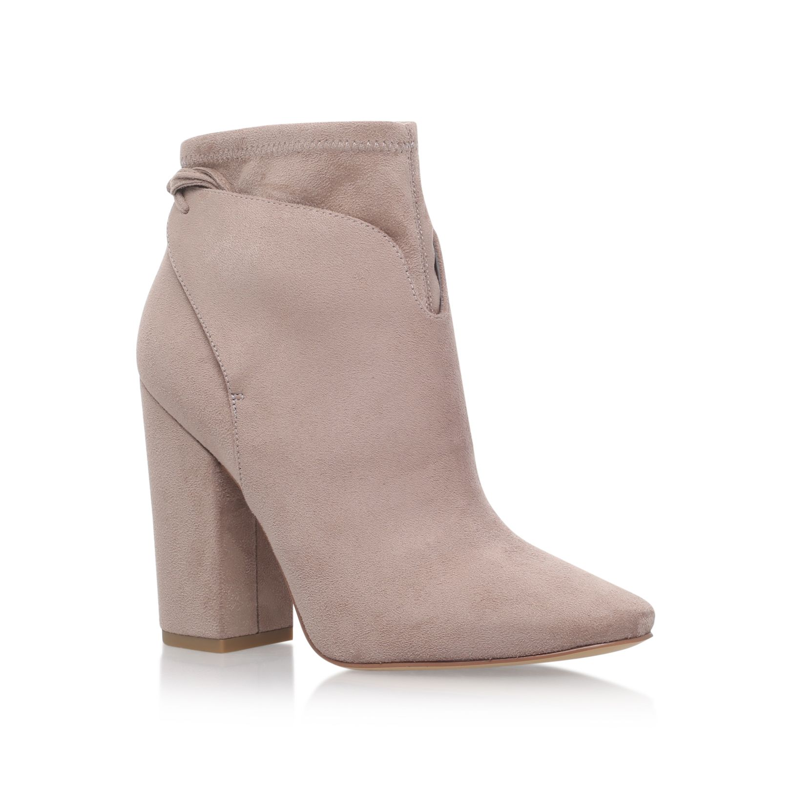 Kendall & Kylie Zola high heel ankle boots Beige