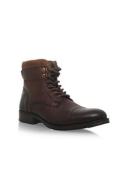 Hatfield Flat Lace Up Boots