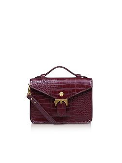 Serena top handle crossbody bag