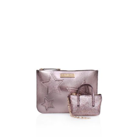 Carvela Pixie clutch bag gift set