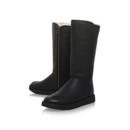 UGG Abree leather II flat knee boots