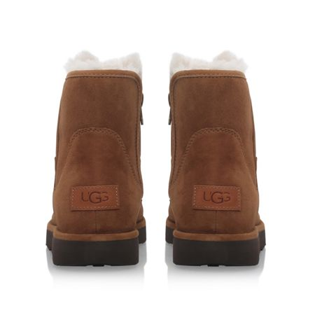 UGG Abree mini flat fur lined boots