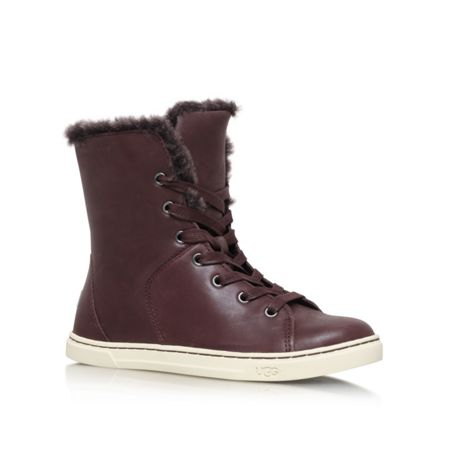 UGG Croft luxe quilt lace up sneakers