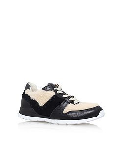 Deaven flat lace up sneakers