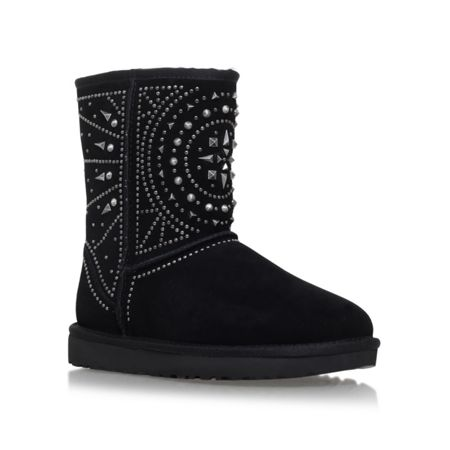 UGG Fiore deco studs flat fur lined boots