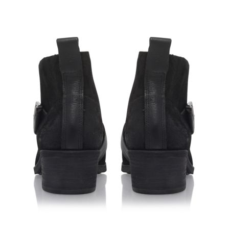UGG Wright belted flat ankle boots