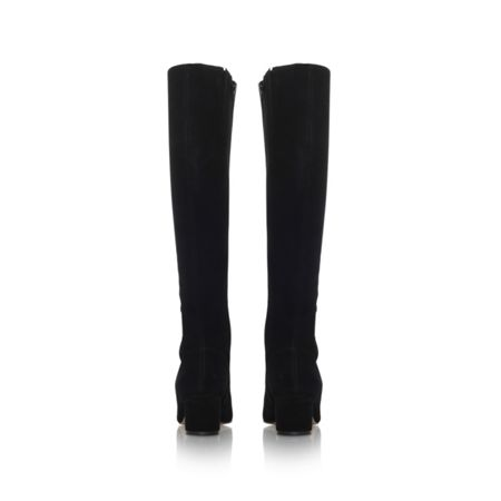 Kurt Geiger Dita zip up knee high boots