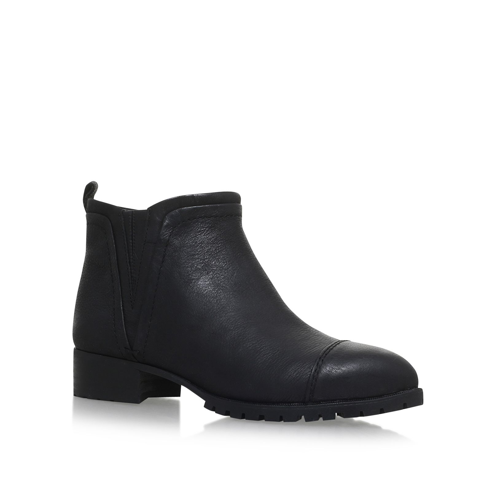 Nine West Layitout flat ankle boots Black