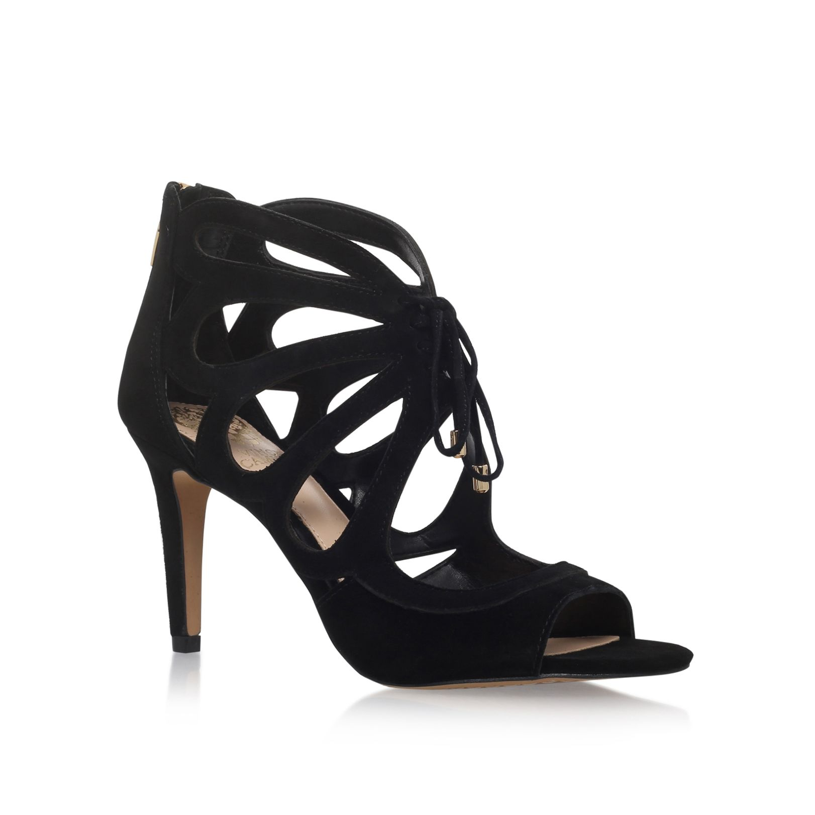 Vince Camuto Vince Camuto Calivia high heel sandals, Black