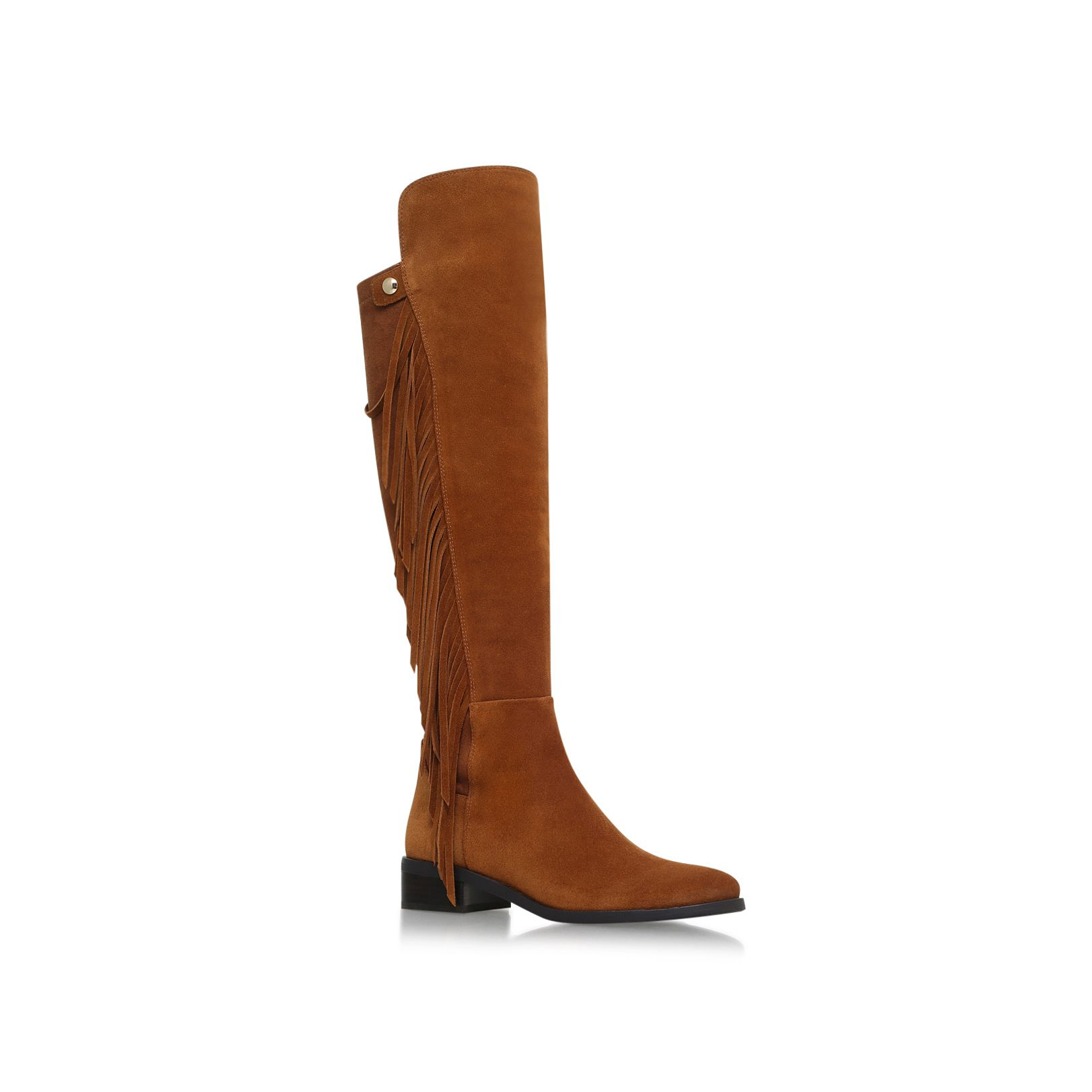 Vince Camuto Vince Camuto Sentina low heel knee boots, Tan