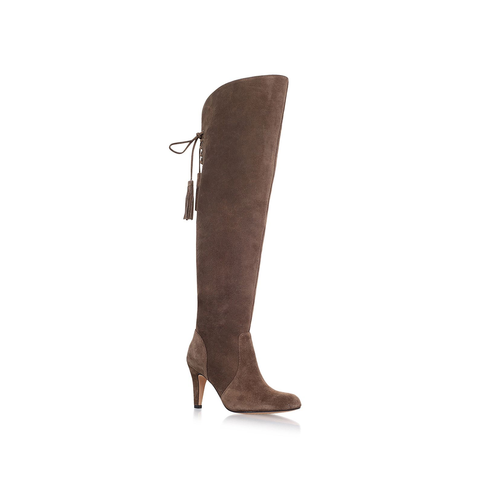 Vince Camuto Cherline high heel knee boots Taupe
