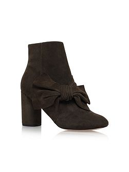 Rattle high heel ankle boots