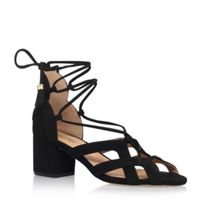 Michael Kors Mirabel mid high heel sandals