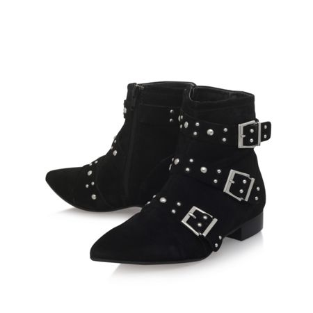 Carvela Snorkle zip up ankle boots