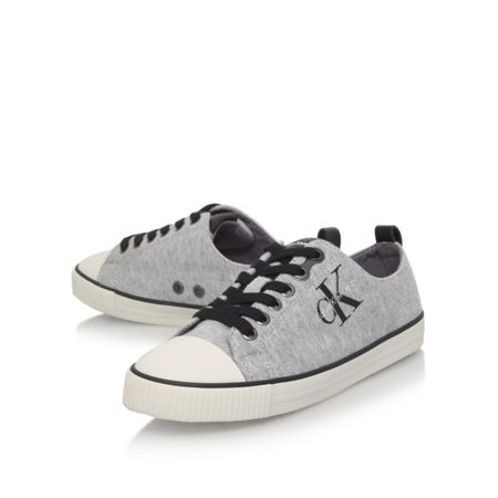 Calvin Klein Donata flat lace up sneakers