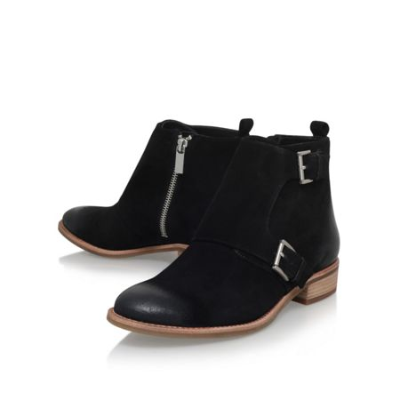 Michael Kors Adams monk strap flat ankle boots