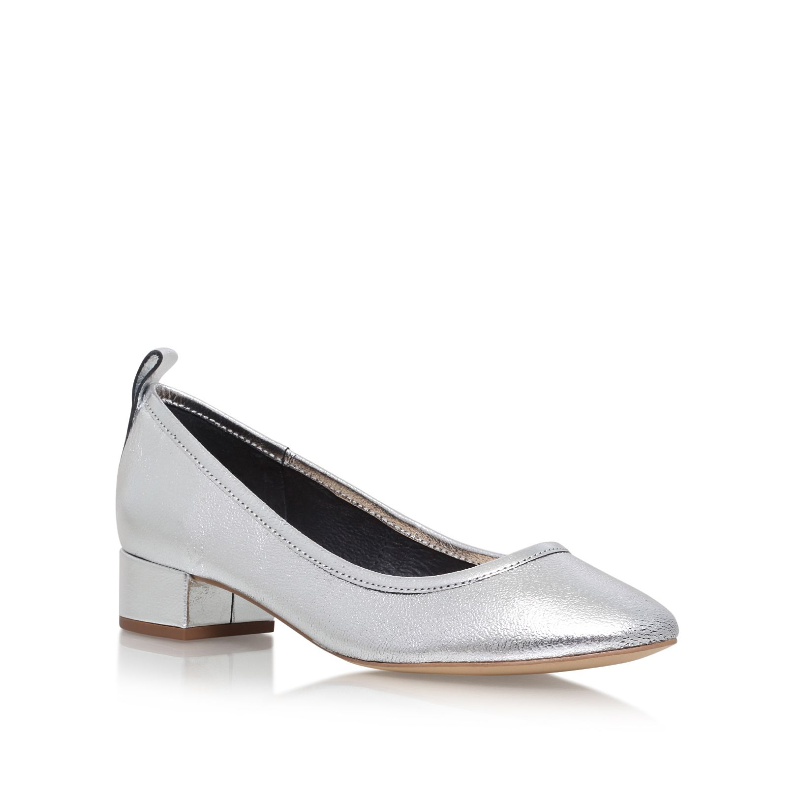 Carvela Aston court shoes Silver