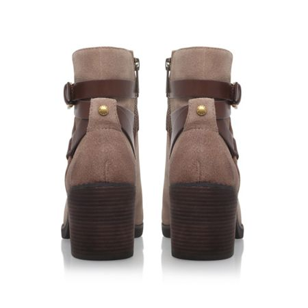 Michael Kors Fawn bootie mid heel ankle boots