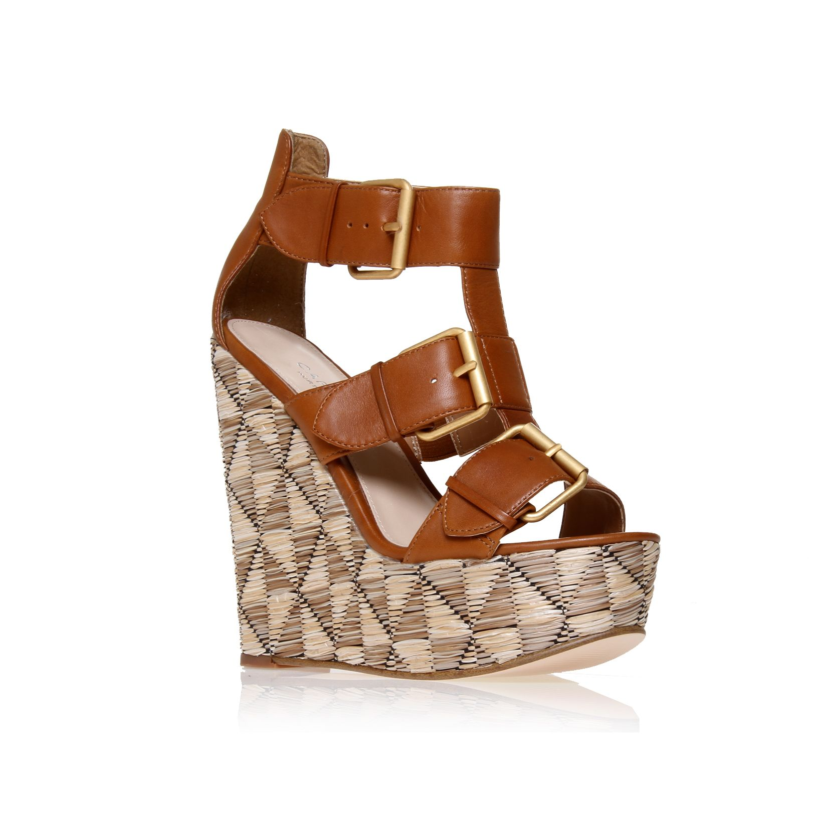 Krook wedge sandals