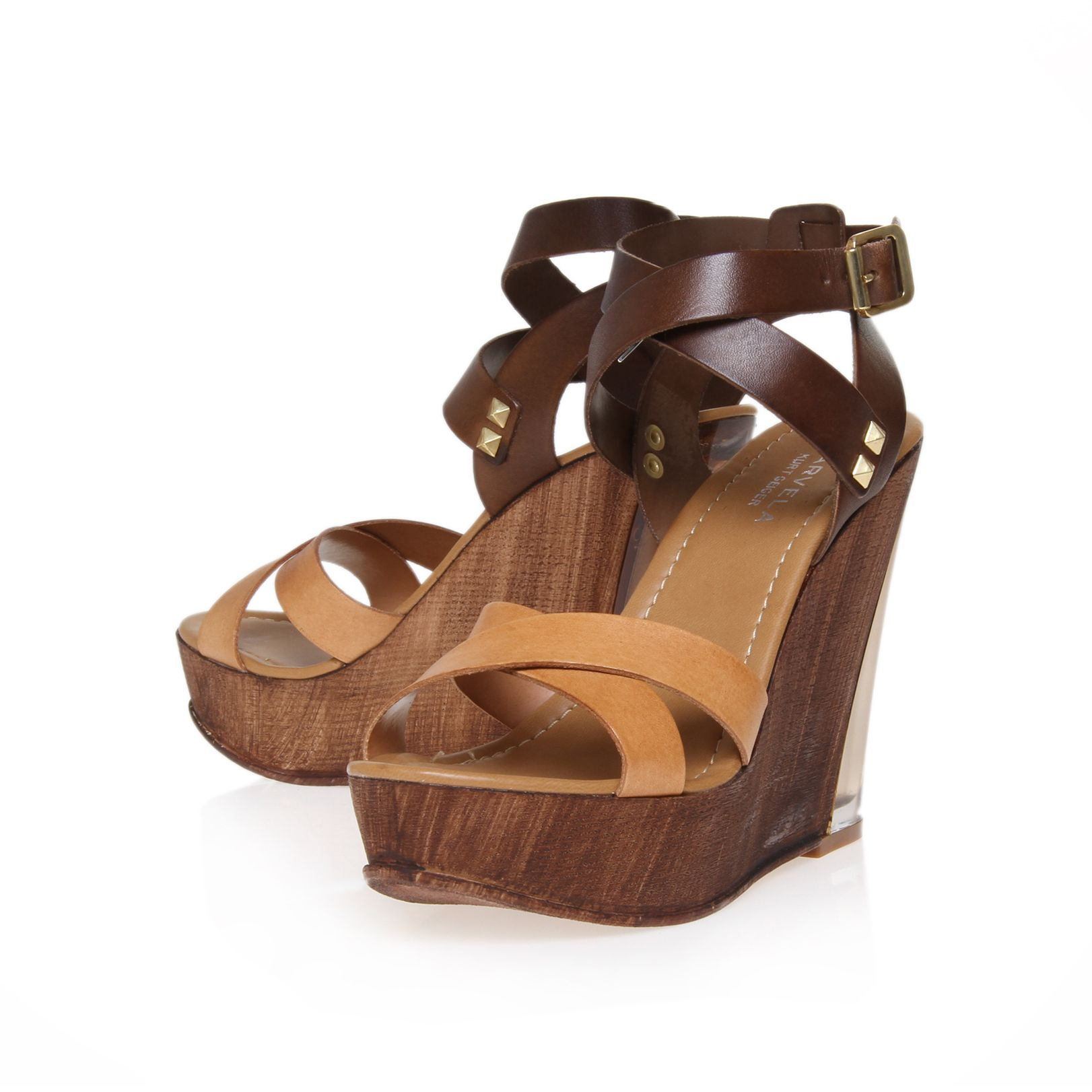 Koffee wedge sandals