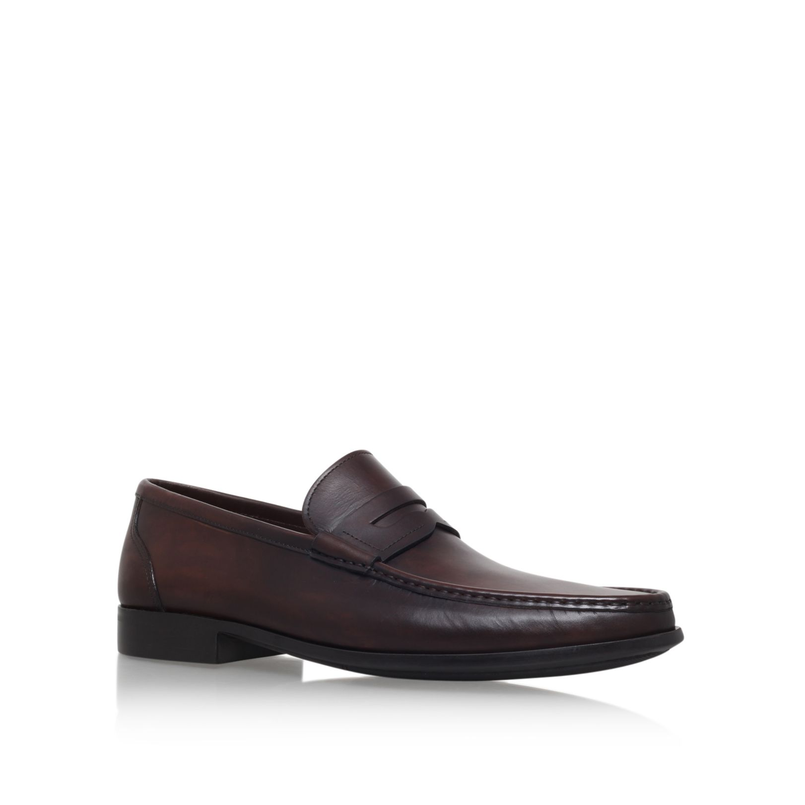 Magnanni Magnanni Penny Loafer Brown Flat Shoes, Brown