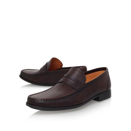 Magnanni Penny Loafer Brown Flat Shoes