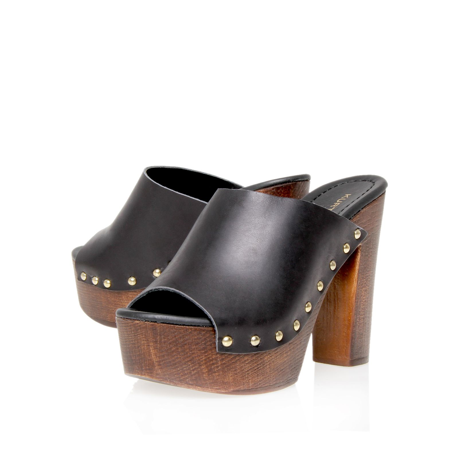 Hendrix leather mules