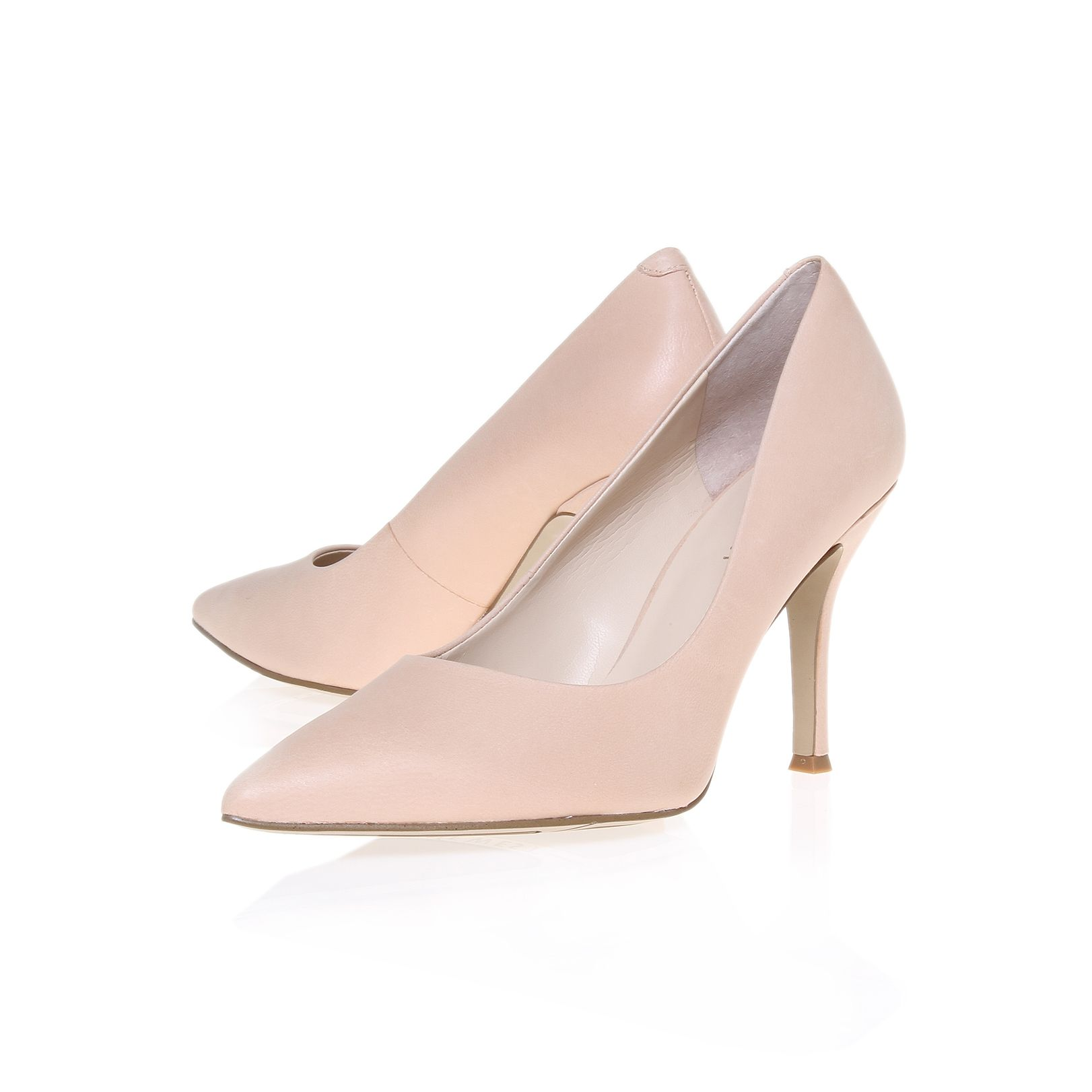 Flax Pointed Court Shoe