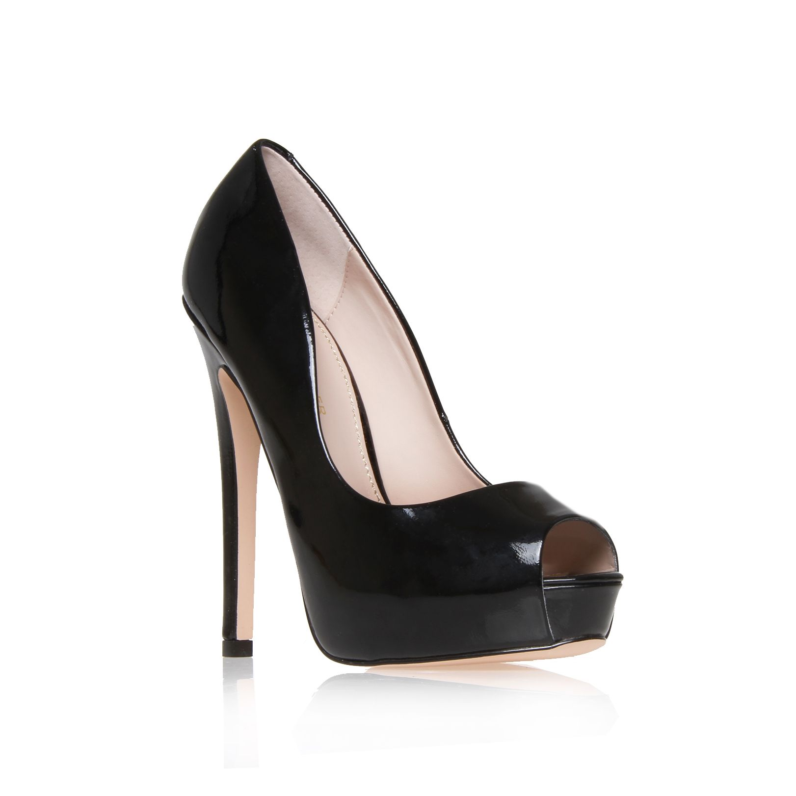 Admire platform court shoes