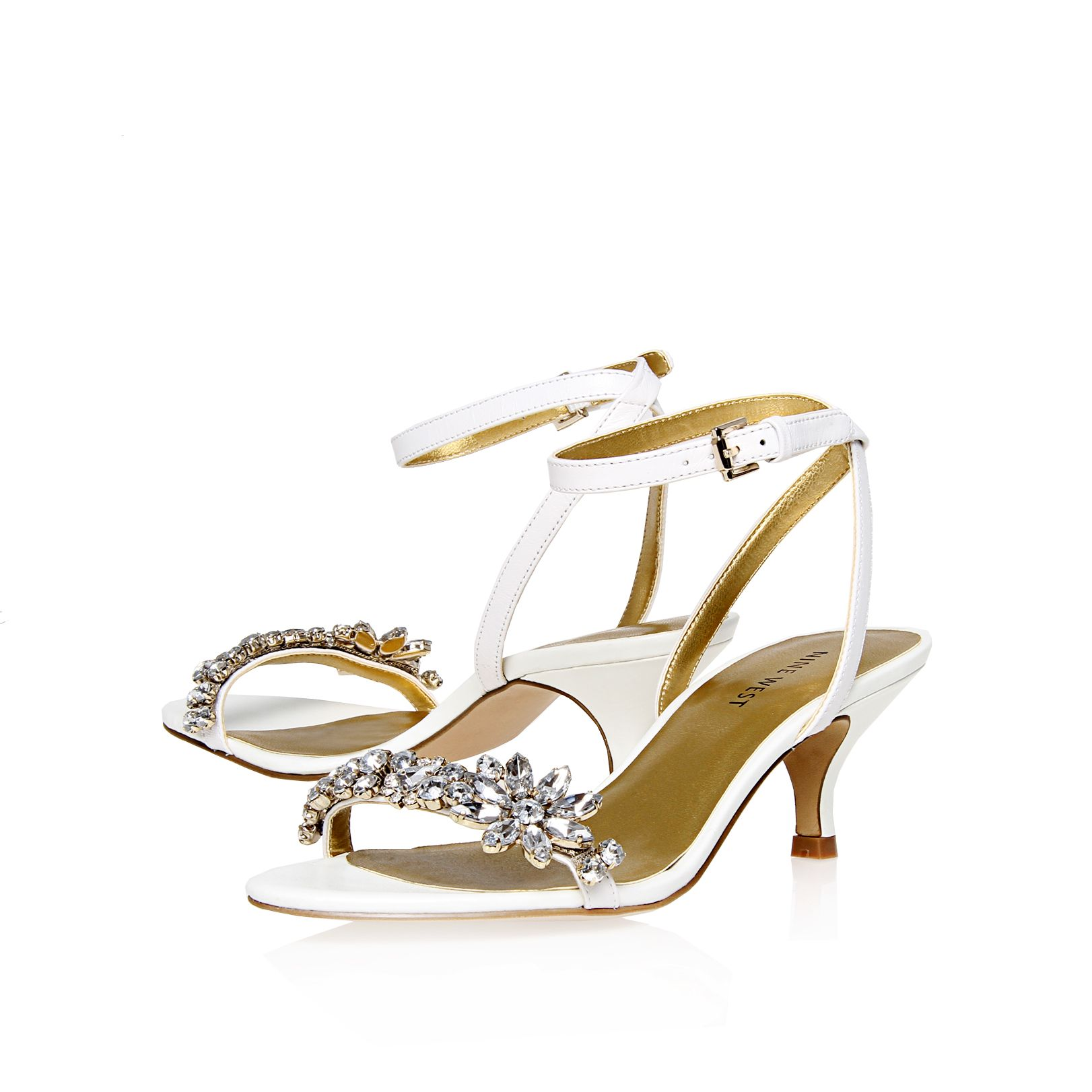 Offcourse diamante embellished sandals