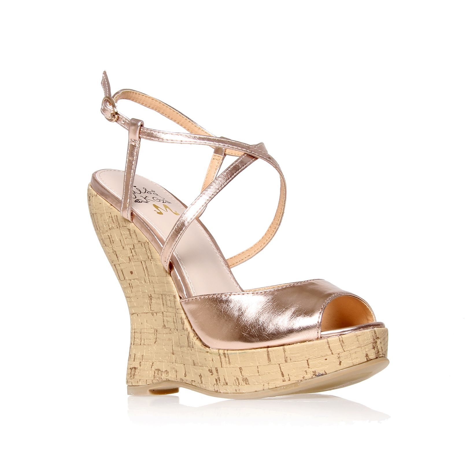 Maldiva wedge court shoes