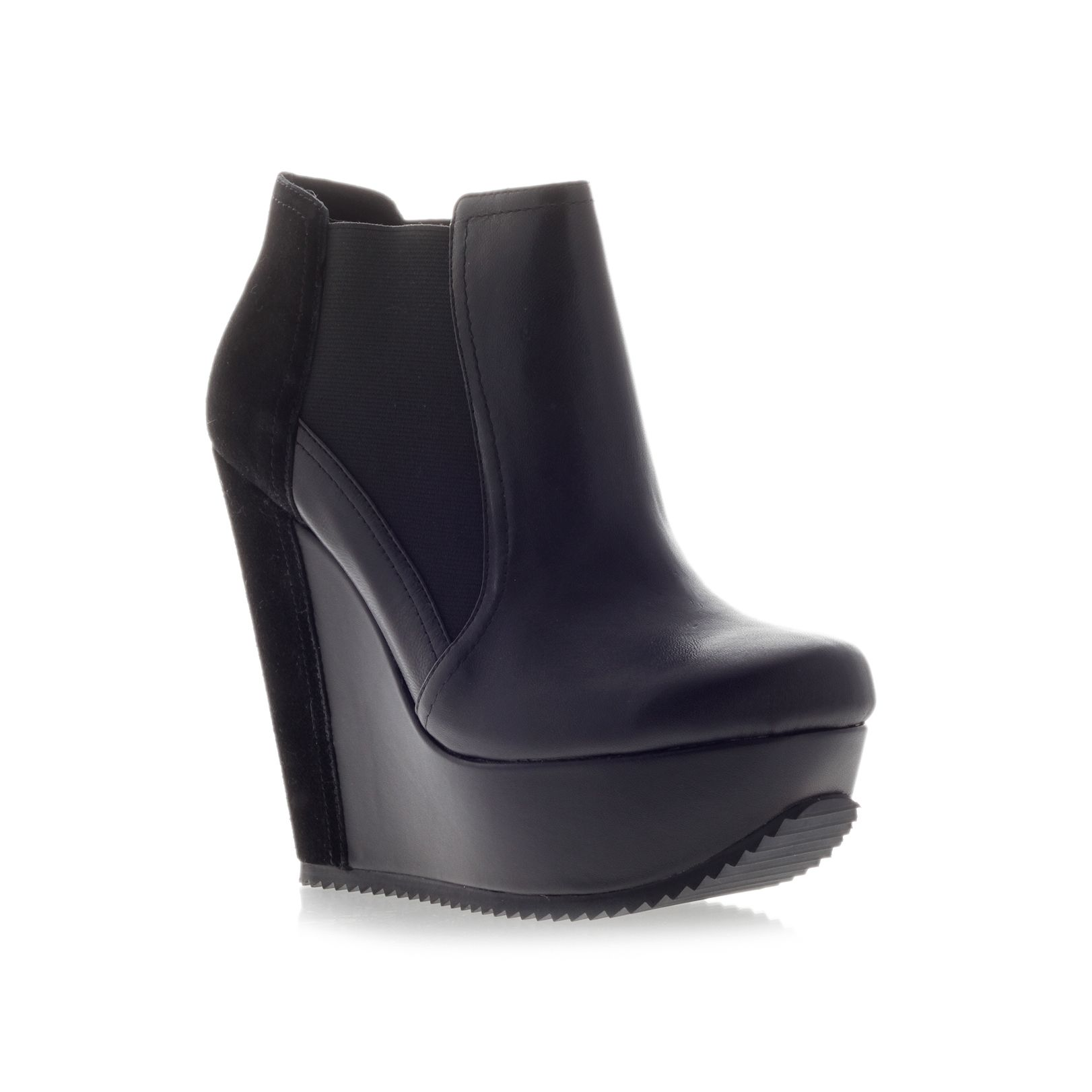 Stanley wedge boots
