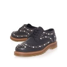 Lisbeth flat brogue shoes