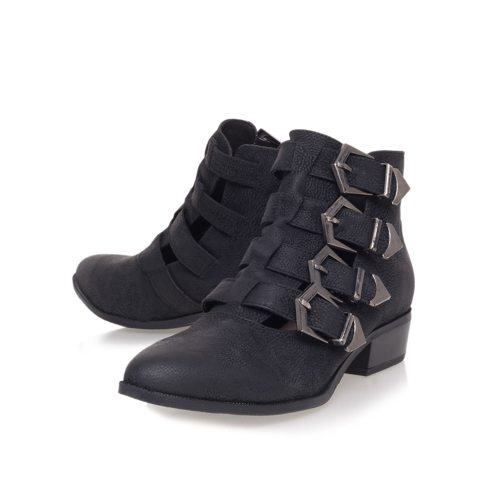 Buster low heel ankle boots
