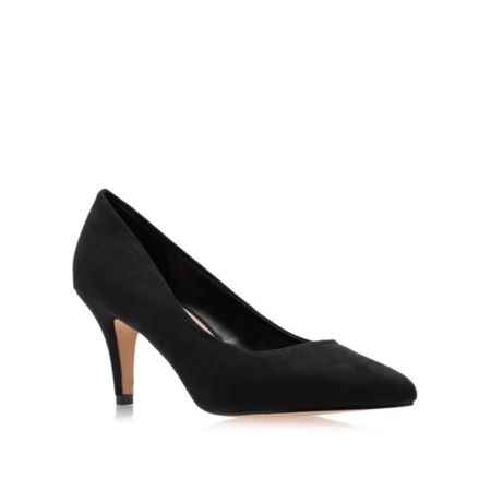 Carvela Kairo mid heel court shoes
